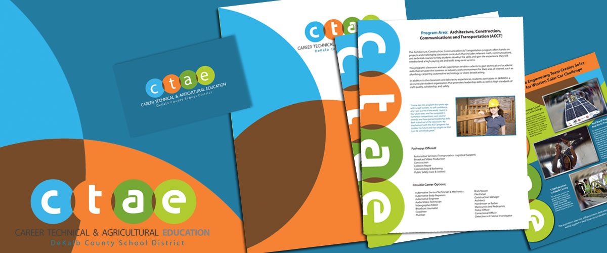CTAE Posters and Presentation Folders by 11 Fingers Design