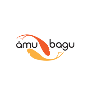 Logo for Amu Bagu by 11 Fingers Design