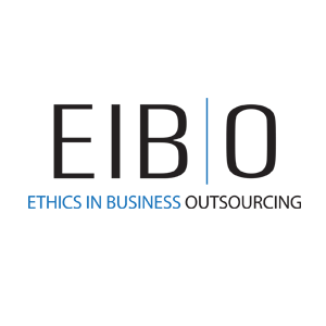 Logo for EIB Outsourcing by 11 Fingers Design