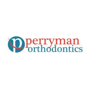 Logo for Perryman Orthodontics by 11 Fingers Design