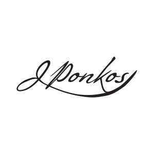 Logo for JPonkos by 11 Fingers Design